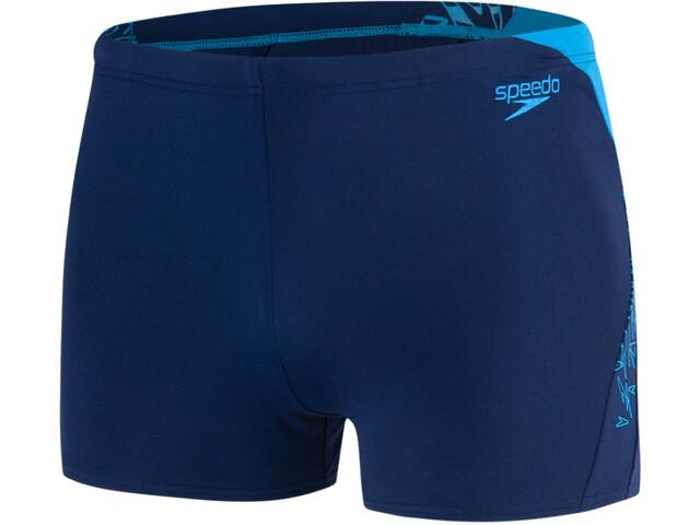 speedo Boom Splice Aquashorts Men Navy/Windsor Blue